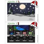 Paysages de Noël [atelier mathématique]