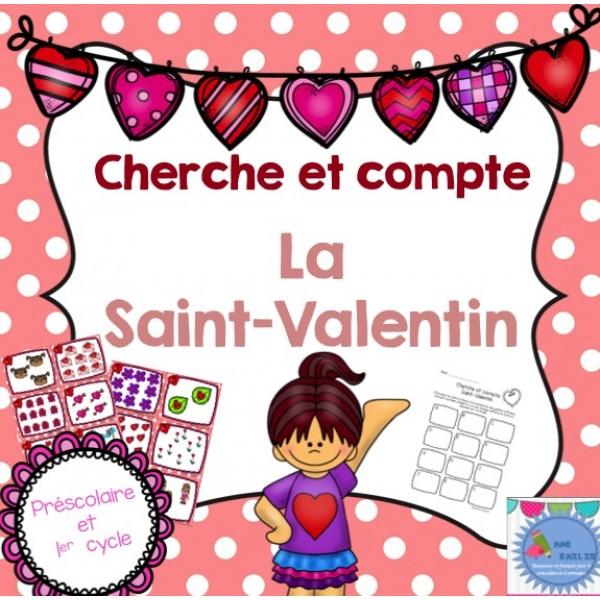 Cherche et compte {Saint-Valentin}