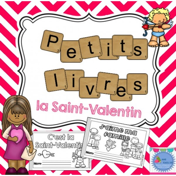Petits livres de Saint-Valentin