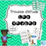 Trousse d'étude Les verbes