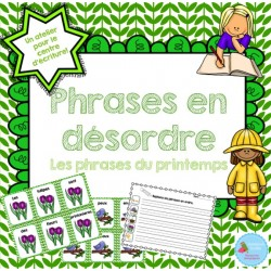 Phrases en désordre {Printemps}