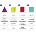 Les formes et solides {Cartes à clip}