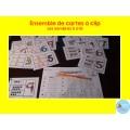 Les nombres 0 à 10 {cartes à clip}