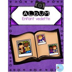 Album Enfant Vedette