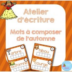 Atelier mots à composer {Automne}
