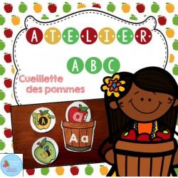 Atelier alphabet (pommes)