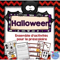 Halloween {Maths et littératie}