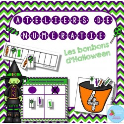 3 ateliers de numératie {Bonbons d'Halloween}