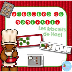 Atelier de numératie (biscuits de Noël)