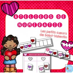 Ateliers des petits coeurs de Saint-Valentin