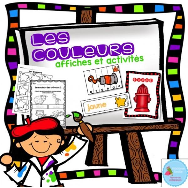 Les couleurs (activités et affiches)