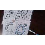 Atelier des lettres labyrinthes