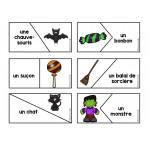Atelier puzzles de mots d'Halloween