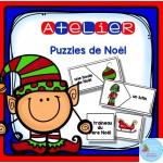 Atelier puzzles des mots Noël