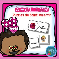 Puzzles des mots de la Saint-Valentin