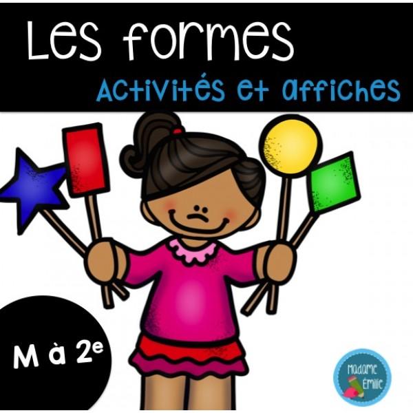 Les formes (affiches et activités)
