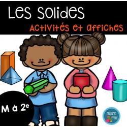 Les solides (activités et affiches)