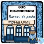 Au bureau de poste {Jeu symbolique}