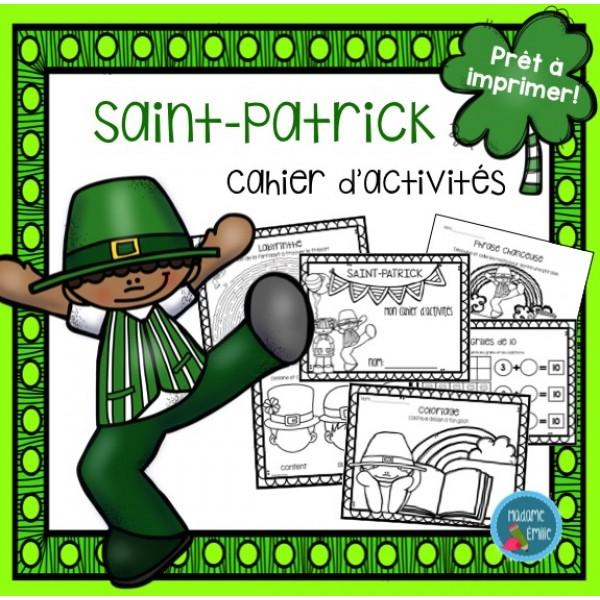 Cahier d'activité Saint-Patrick