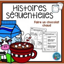 Faire un chocolat chaud (Histoire séquentielle)