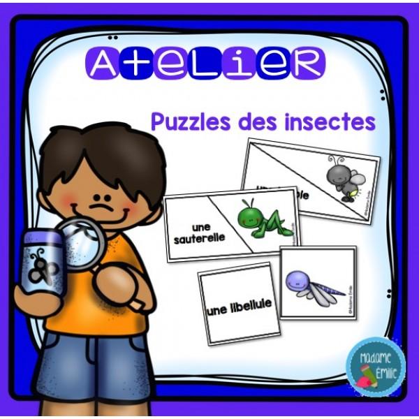 Puzzles des insectes