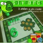 Saint-Patrick Ateliers de pâte à modeler
