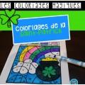 Coloriages magiques {Saint-Patrick}