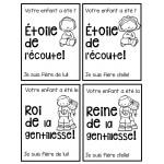 Règles de vie (affichage et activités)