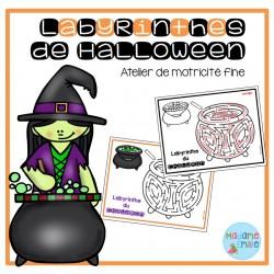 Labyrinthes de l'Halloween
