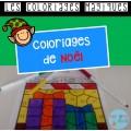 Coloriages magiques (Noël)