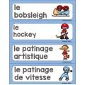Jeux d'hiver (ensemble d'activités)