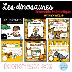 Dinosaures (ensemble économique)