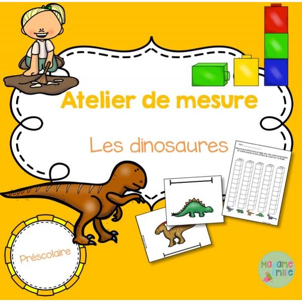 Dinosaures (atelier de mesure)