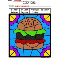 Alimentation (coloriages magiques)