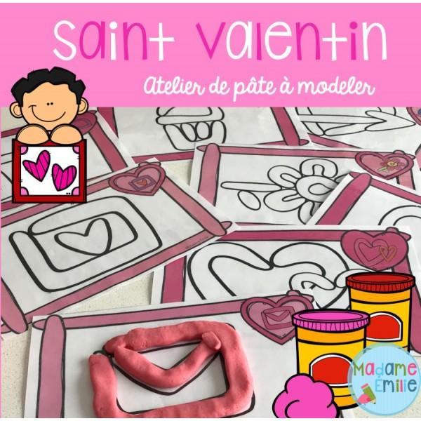 Saint-Valentin (Pâte à modeler)
