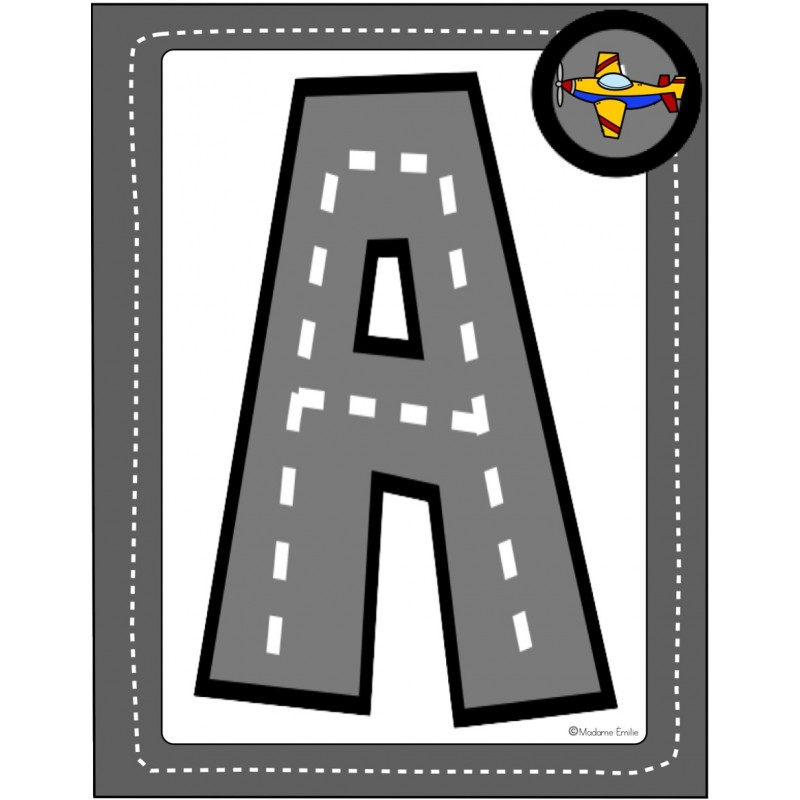 La Route Des Lettres De L\'alphabet (Atelier ABC