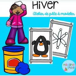 Hiver (atelier pâte à modeler)