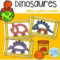 Dinosaures (Atelier de pâte à modeler)