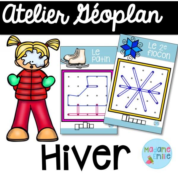 Atelier Géoplan (Hiver)