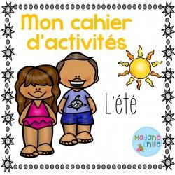 Cahier d'activités de l'été