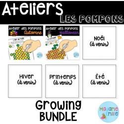 Ateliers Pompons /Ensemble grandissant