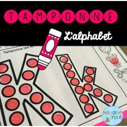 Atelier Tamponnage (Alphabet)