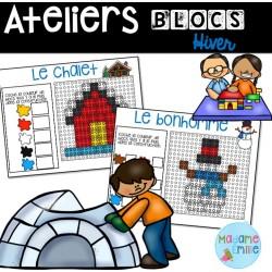 Ateliers blocs de l'hiver