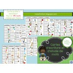 Cartes d'étude de mots