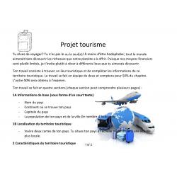 Projet territoire touristique
