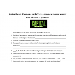 Questionnaire Capital Terre