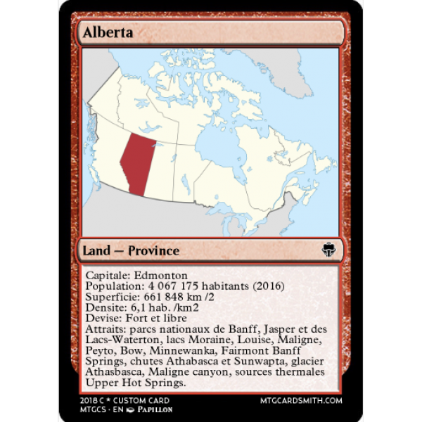 Cartes Canada