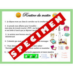 Routine 1er cycle
