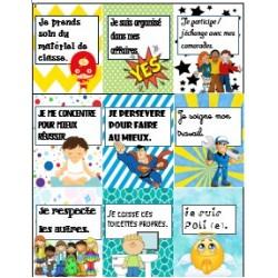 brag tags - billets de fierté (français)