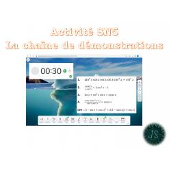 Activité SN5: chaine de démonstrations